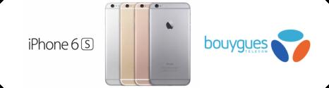 iPhone 6s et 6s Plus en précommandes chez Bouygues Telecom à partir de 149,90€ News1510