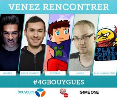 La 4G+ de Bouygues Telecom présente à la Paris Games Week sur l'espace GAME ONE Pgs10