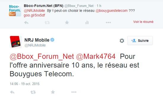 L'offre Anniversaire EI Telecom (NRJ Mobile) utilise la 4G de Bouygues Telecom Sans_t11