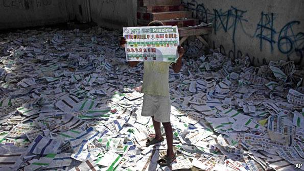 """FAKE ELECTIONS UNDER UN GUNS TO IMPOSE CRIMINALS AS HAITIAN """"LEADERS"""" 10615610"""
