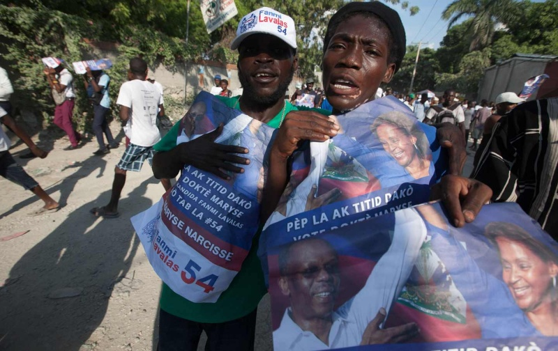 Can Haiti's Corrupt President Hold On to Power? Haiti_10