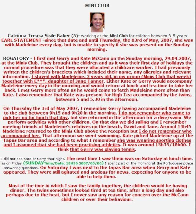 Was Madeleine seen after Sunday? - Page 5 Nannie13