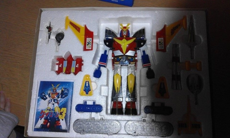Daitarn 3 DX made in japan NEAR MINT 810