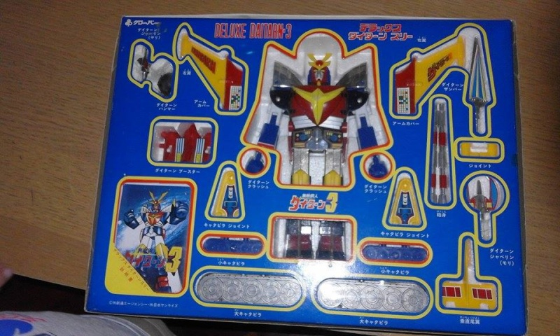 Daitarn 3 DX made in japan NEAR MINT 910