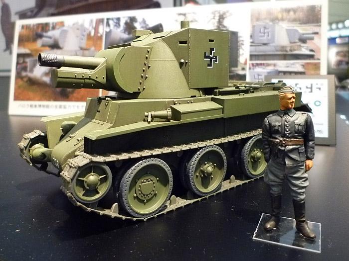New from Tamiya - Finnish  Army Assault Gun BT-42  3531810