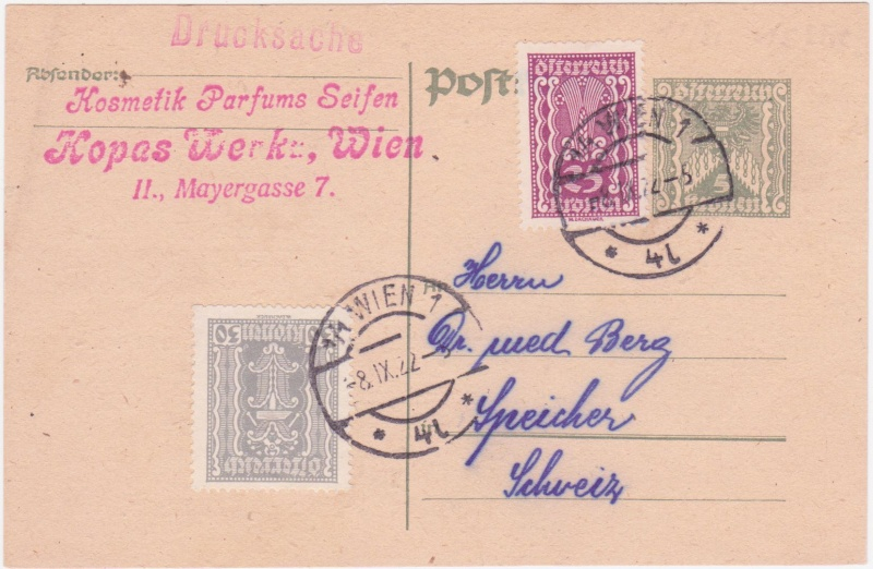 """Postkartenserie """"Quadratischer Wertstempel - Wertziffer im Dreieck"""" 1922-24 - Seite 4 1922ix10"""