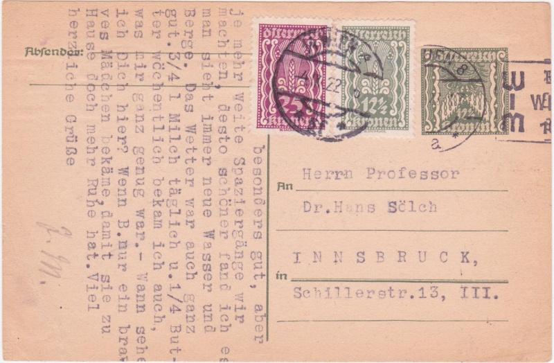"""Postkartenserie """"Quadratischer Wertstempel - Wertziffer im Dreieck"""" 1922-24 - Seite 4 1922se10"""