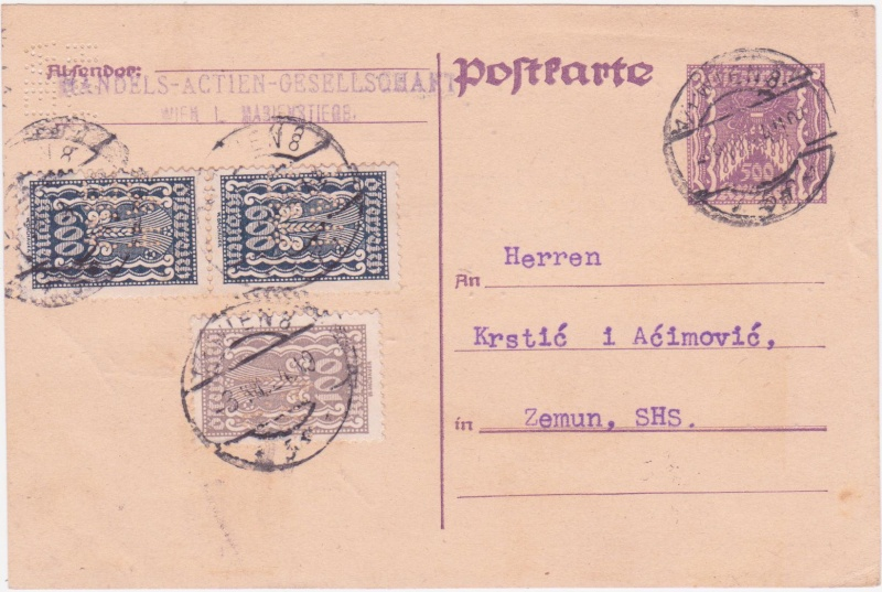 """Postkartenserie """"Quadratischer Wertstempel - Wertziffer im Dreieck"""" 1922-24 - Seite 4 1924ju10"""