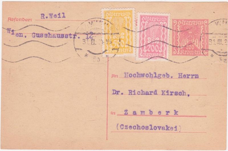 """Postkartenserie """"Quadratischer Wertstempel - Wertziffer im Dreieck"""" 1922-24 - Seite 4 1924ma10"""