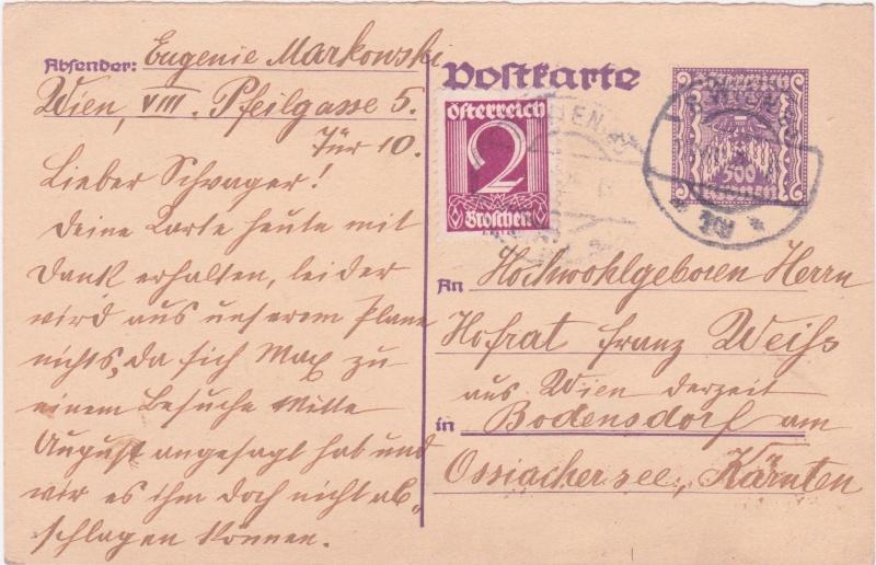 """Postkartenserie """"Quadratischer Wertstempel - Wertziffer im Dreieck"""" 1922-24 - Seite 4 1925vi10"""