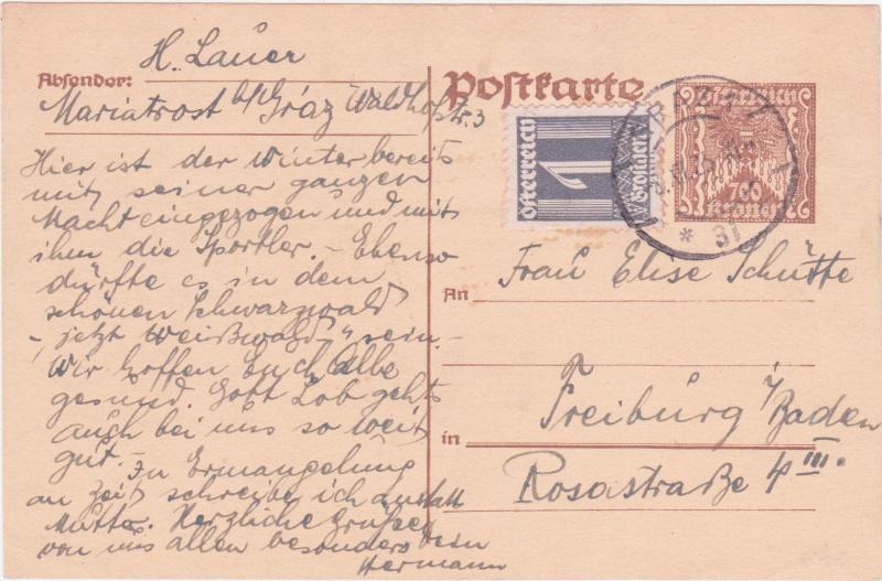 """Postkartenserie """"Quadratischer Wertstempel - Wertziffer im Dreieck"""" 1922-24 - Seite 4 1925xi11"""