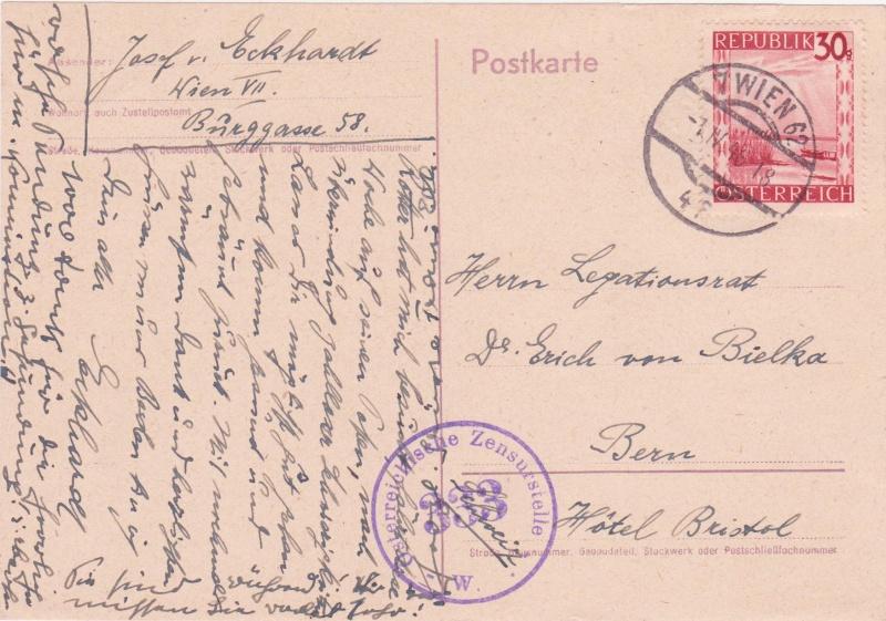 Landschaftsbilder ANK 738-766  -  Belege - Seite 5 1946iv10