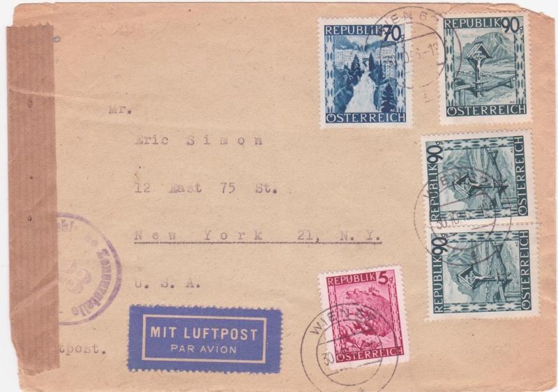 Landschaftsbilder ANK 738-766  -  Belege - Seite 5 1946x10