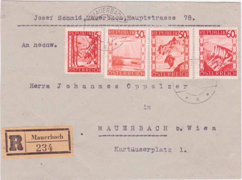 Orange Landschaft Österreich - Belege - Seite 5 1948v10