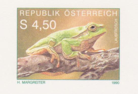 Frösche, Kröten und andere Lurche 1990la11