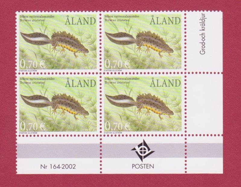 Frösche, Kröten und andere Lurche Aland110
