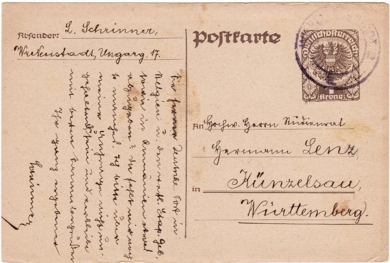 """Postkartenserie """"Neuer Wappenadler"""", Inschrift """"Deutschösterreich"""" - Seite 2 Img26"""