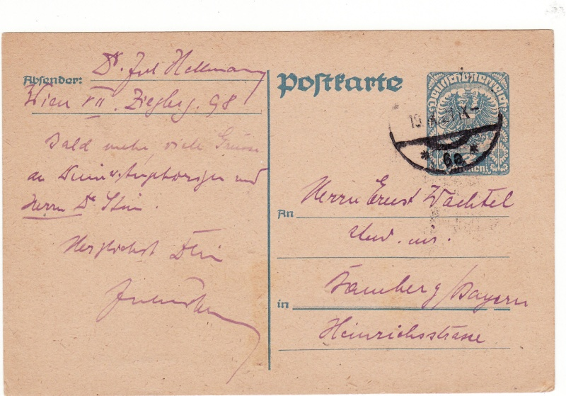 """Postkartenserie """"Neuer Wappenadler"""", Inschrift """"Deutschösterreich"""" - Seite 2 Img34"""