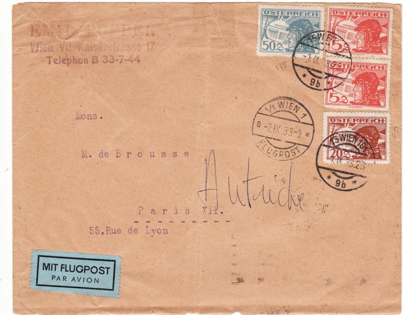 Ältere Flugpost aus Wien Img37