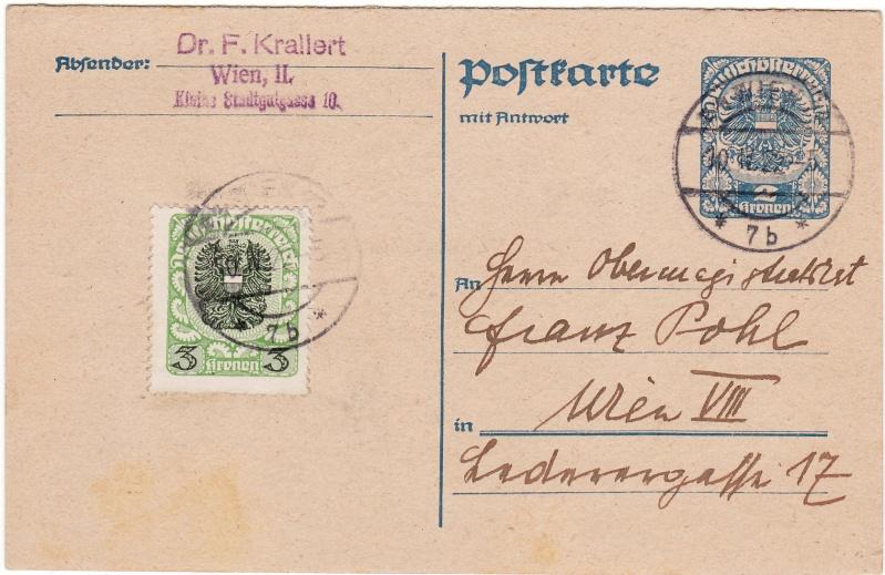 """Postkartenserie """"Neuer Wappenadler"""", Inschrift """"Deutschösterreich"""" - Seite 2 Img42"""
