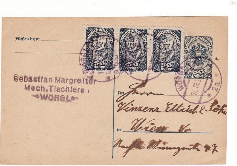 """Postkartenserie """"Neuer Wappenadler"""", Inschrift """"Deutschösterreich"""" - Seite 2 Img_0024"""