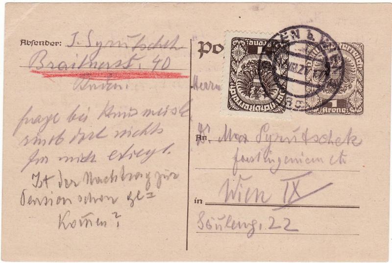 """Postkartenserie """"Neuer Wappenadler"""", Inschrift """"Deutschösterreich"""" - Seite 2 Img_0031"""