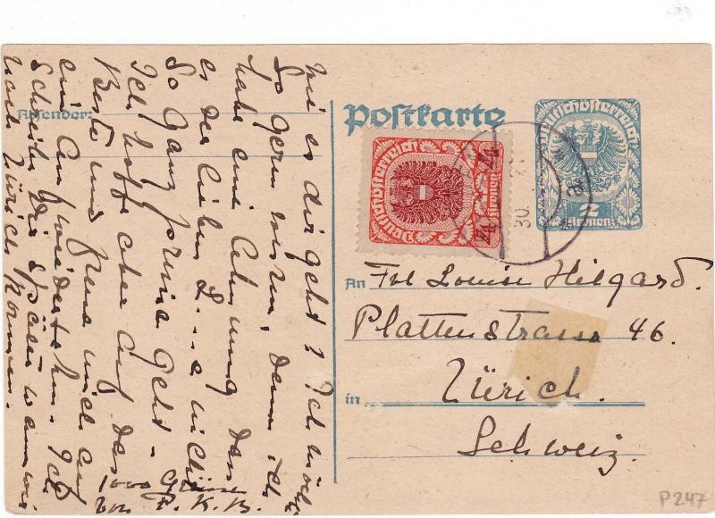 """Postkartenserie """"Neuer Wappenadler"""", Inschrift """"Deutschösterreich"""" - Seite 2 Img_0033"""