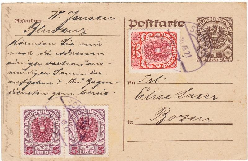 """Postkartenserie """"Neuer Wappenadler"""", Inschrift """"Deutschösterreich"""" - Seite 2 Img_0037"""