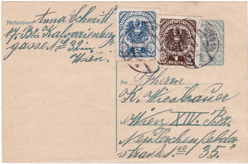"""Postkartenserie """"Neuer Wappenadler"""", Inschrift """"Deutschösterreich"""" - Seite 2 Img_0041"""