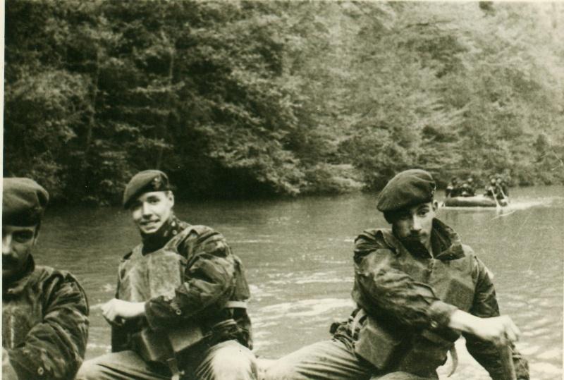 Marche-les-Dames 1963: exercices nautiques. Serge_23