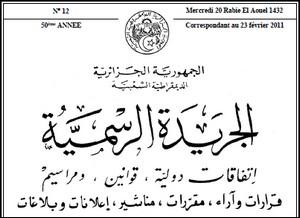 Journal Officiel de la République Algérienne Jo_img10