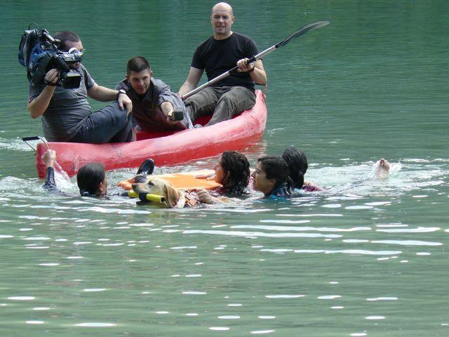 Entrenamiento en Bolarque y grabacion de La Sexta Noticias a SOSCAN (14 mayo 2011) 16_par10