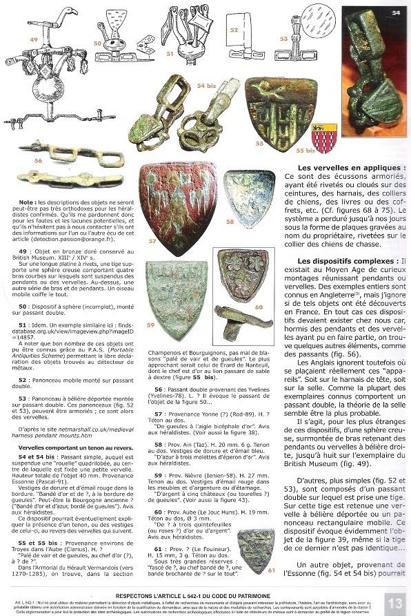 Pinjantes de caballeria medievales Vervel17