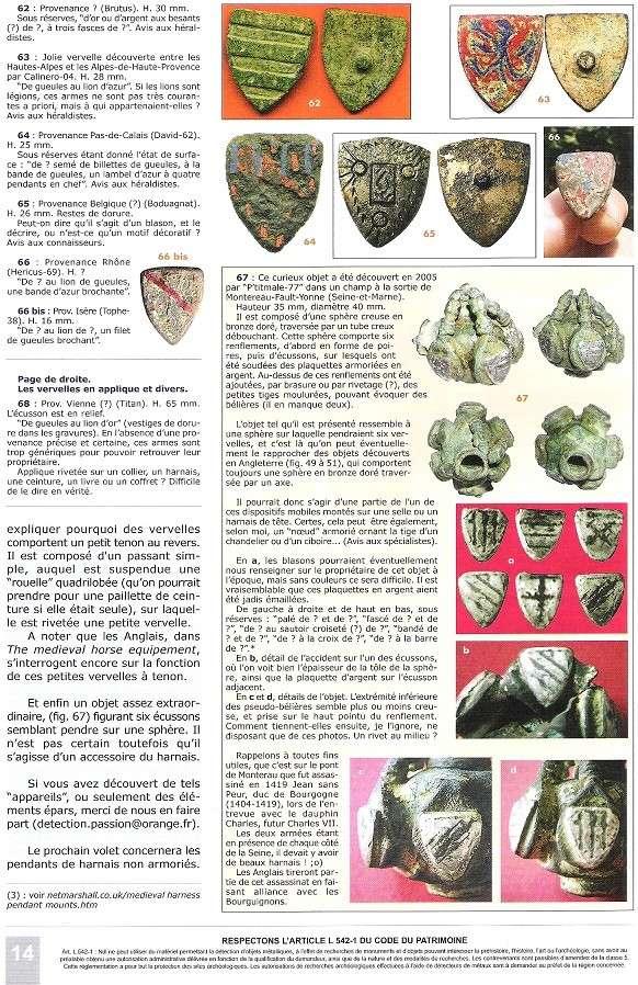 Pinjantes de caballeria medievales Vervel18