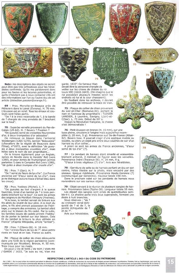 Pinjantes de caballeria medievales Vervel19