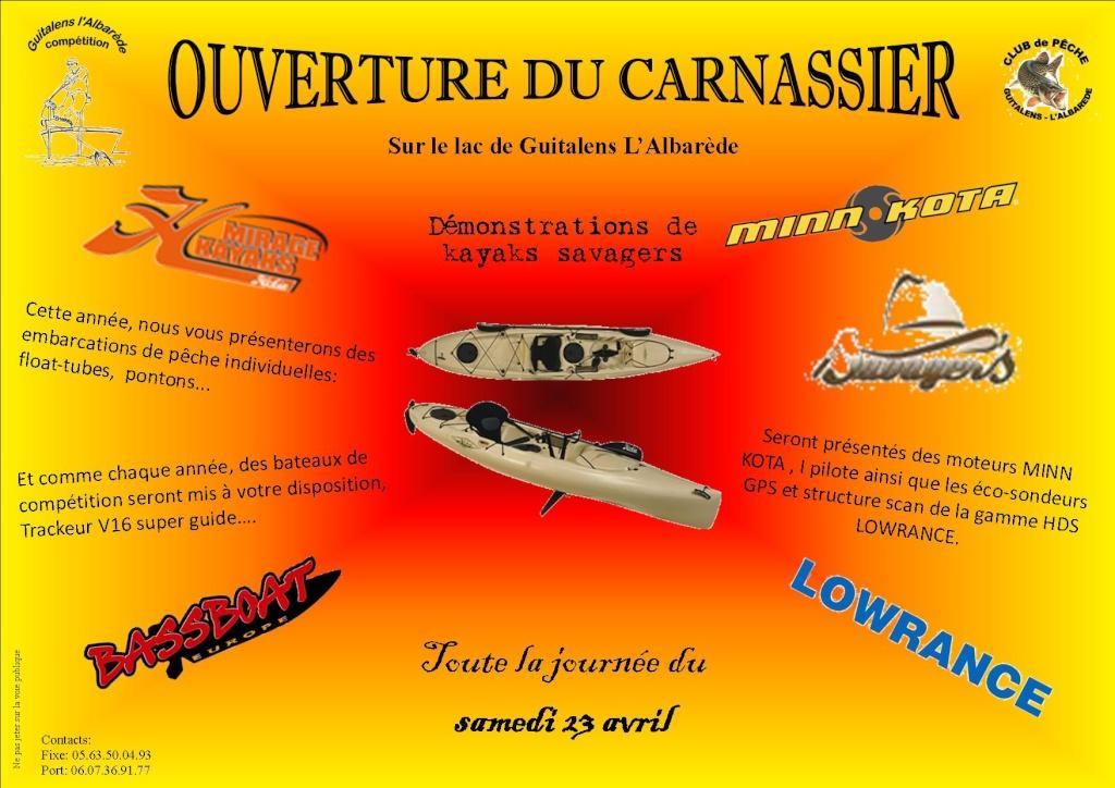 annimation carnassier pour l'ouverture Ouvert10