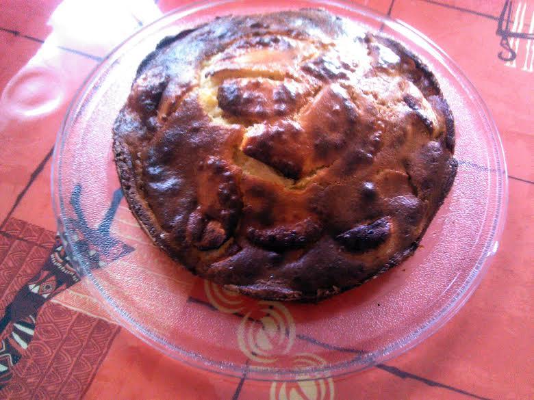 Mon gâteau pommes-amandes tout léger Gateau11