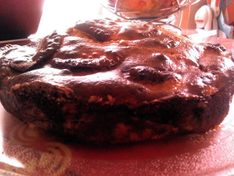 Mon gâteau pommes-amandes tout léger Gateau12