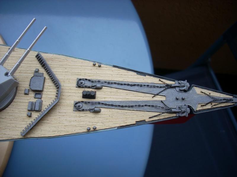 Bismark Revell avec photodécoupe et pont bois. - Page 2 1511