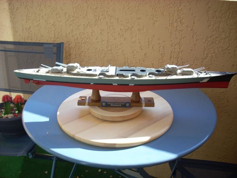 Bismark Revell avec photodécoupe et pont bois. - Page 2 3810