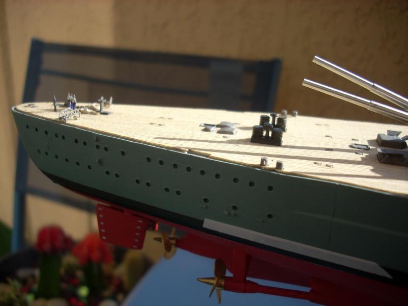 Bismark Revell avec photodécoupe et pont bois. - Page 2 3910