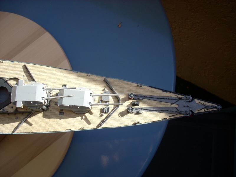 Bismark Revell avec photodécoupe et pont bois. - Page 2 4110