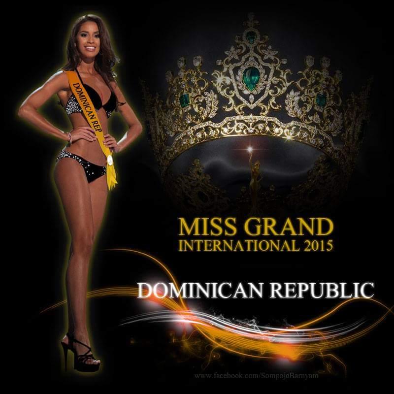 Anea García- MISS GRAND INTERNATIONAL 2015- RESIGNED 11947410