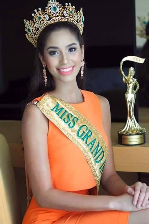 Anea García- MISS GRAND INTERNATIONAL 2015- RESIGNED 12065611