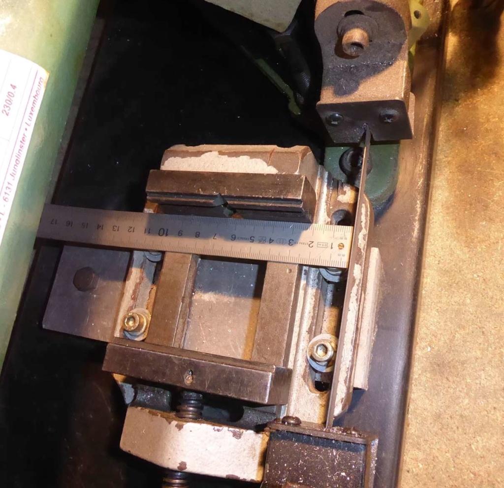 Améliorations de l'étau d'une scie à ruban à métal 310