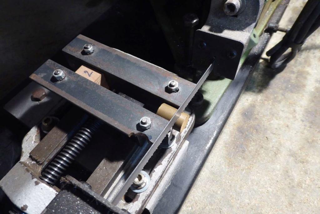 Améliorations de l'étau d'une scie à ruban à métal 710