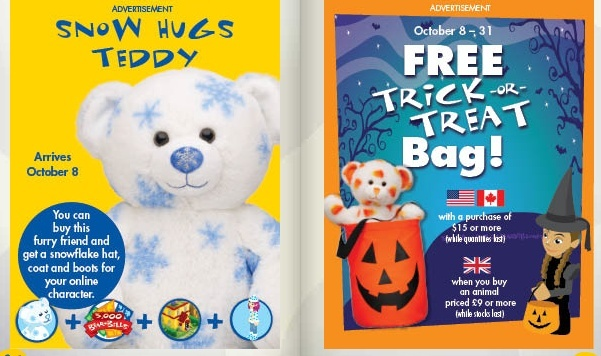 October 6 Issue of Bearville Times - Free Mini Green Tracks, Trick or Treat Bag, Pin Lamp and more! Screen10