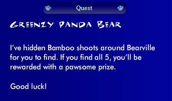 Yew Yew the Greenzys Panda Quest: Bamboo Hunt Ss01910
