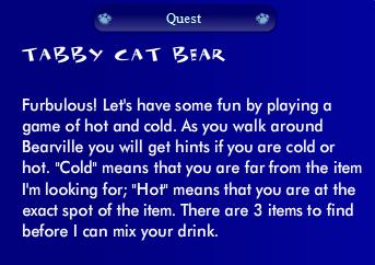 Tabby Cat Bear Quest Ss05410