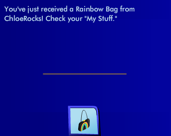 ChloeRocks Special Gift, May 2011 - Rainbow Bag Ss06110